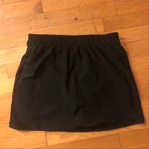 Nike Black Tennis Skirt, S